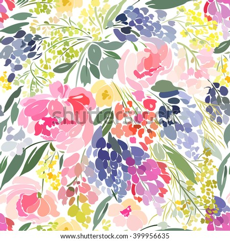 seamless pattern with abstract