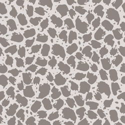 Seamless pattern with abstract spots on a light background. Animal print, spots, splashes. It can be used for decoration of textile, paper and other surfaces.