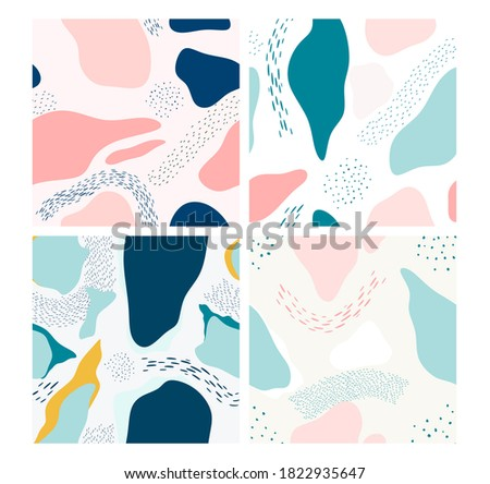 Seamless pattern with abstract . vector illustration. Photo stock ©