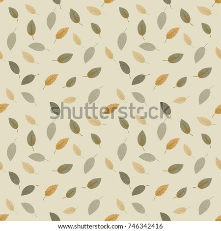 seamless pattern with autumn