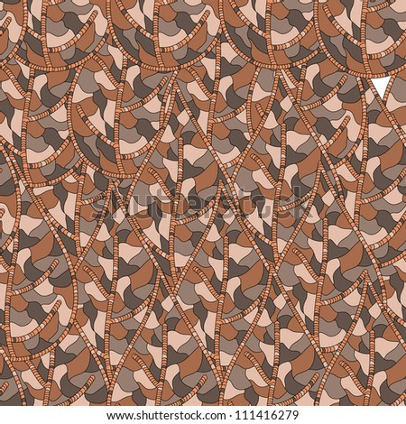 Seamless pattern with autumn leaves EPS8
