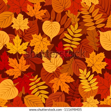 free autumn leaves pattern download free vector art stock