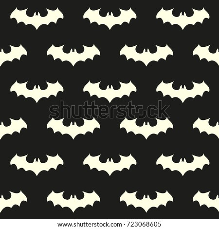 seamless pattern with bat