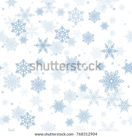 seamless pattern with blue