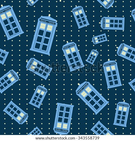seamless pattern with british