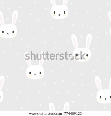seamless pattern with cartoon