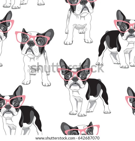 seamless pattern with cartoon