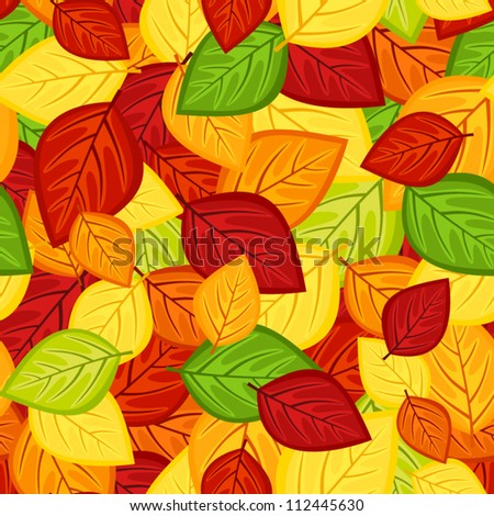 seamless pattern with colored