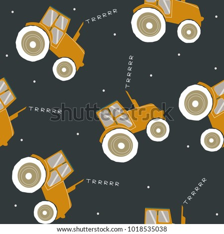 seamless pattern with cool