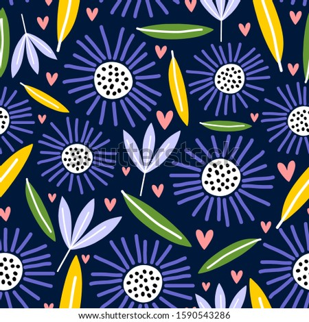 seamless pattern with creative