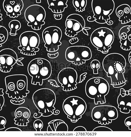 seamless pattern with different