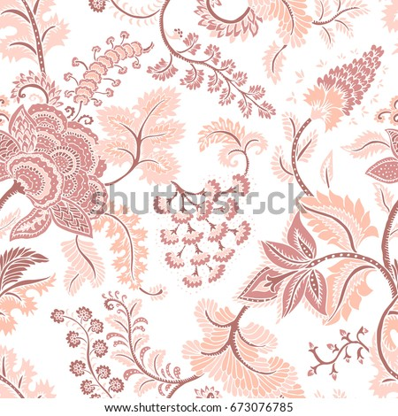 seamless pattern with fantasy