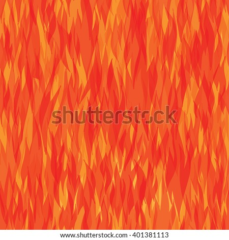 seamless pattern with fire