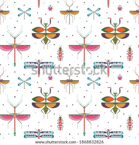 seamless pattern with geometric