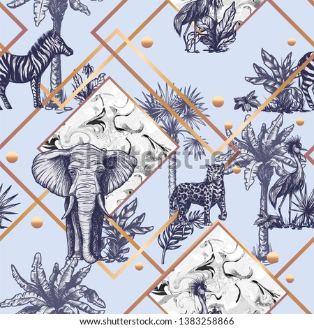 seamless pattern with graphic