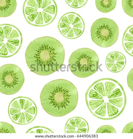 seamless pattern with green