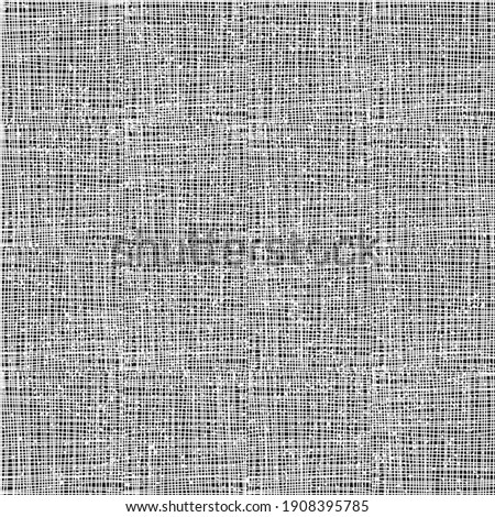Seamless pattern with grunge horizontal and vertical white segments