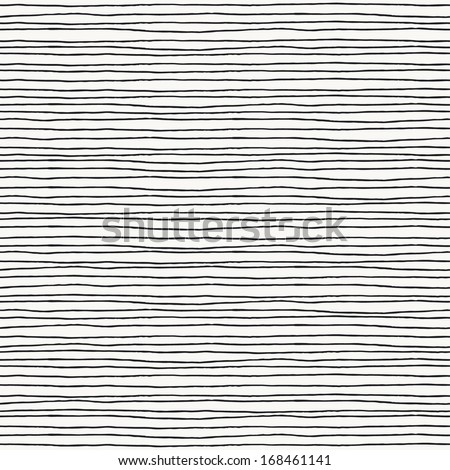 Seamless pattern with hand drawn lines. Vector illustration