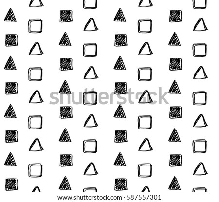 royaltyfree set of geometric shapes education and