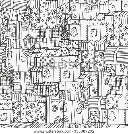 seamless pattern with holiday