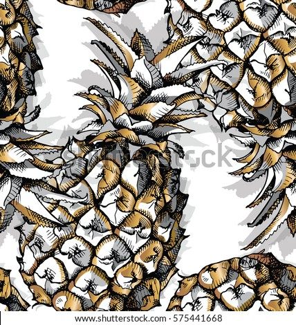 seamless pattern with image