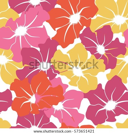 seamless pattern with large
