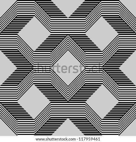 Seamless pattern with lines gray