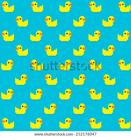 seamless pattern with many