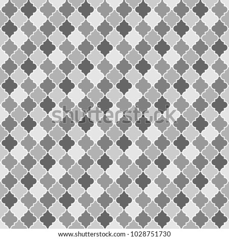 seamless pattern with ogee