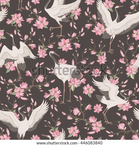 seamless pattern with ornate