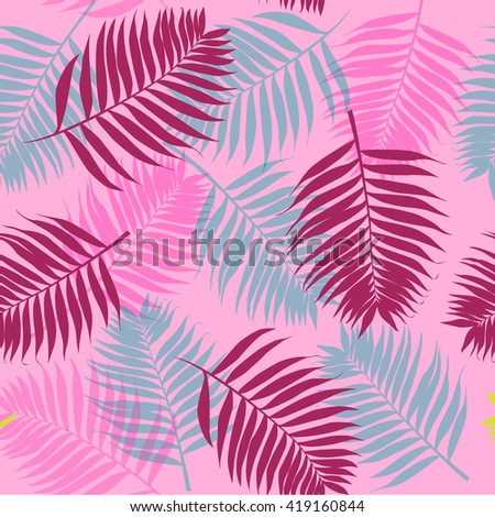 seamless pattern with palms