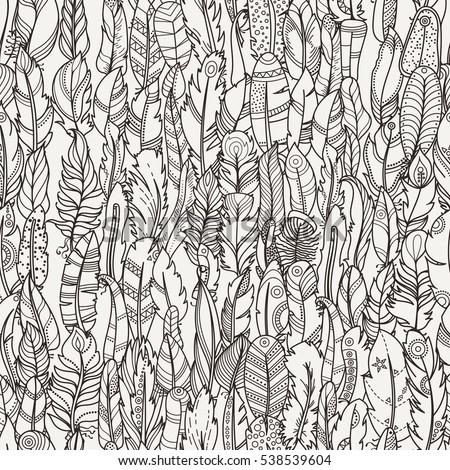 seamless pattern with random