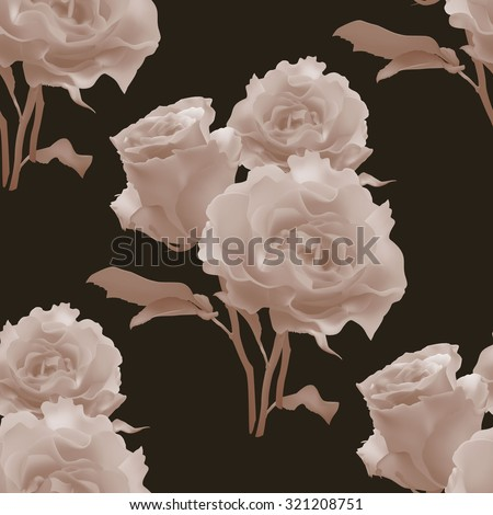 seamless pattern with sepia