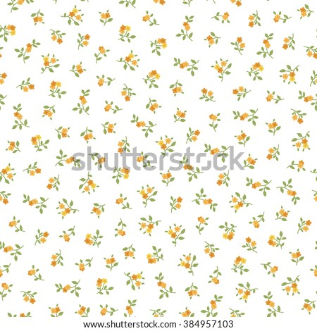 seamless pattern with small