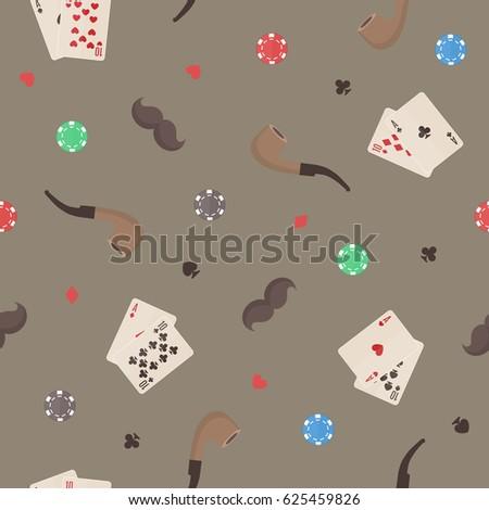 seamless pattern with smoking