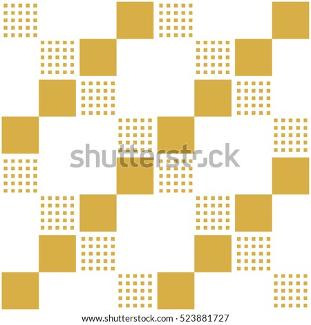 Seamless pattern with squares. Abstract background with a geometric figures