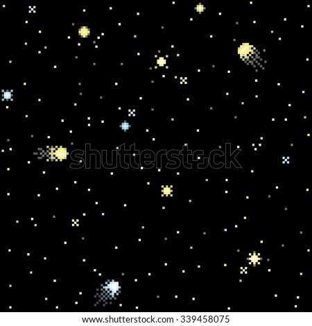 seamless pattern with starry