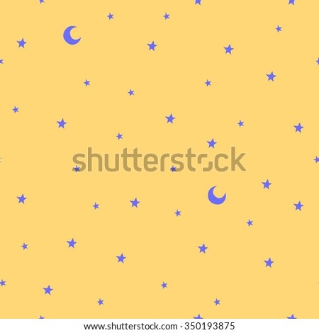 seamless pattern with stars and