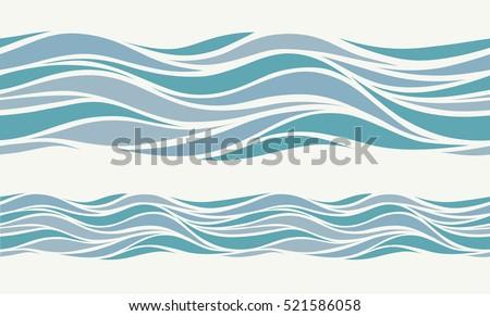 seamless pattern with stylized