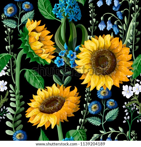 seamless pattern with