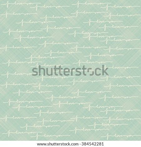seamless  pattern with text