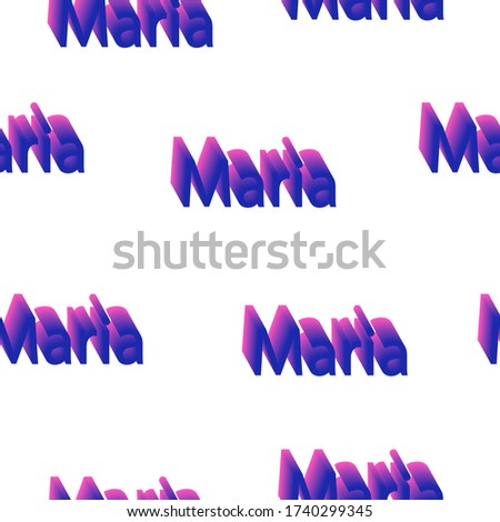 seamless pattern with the