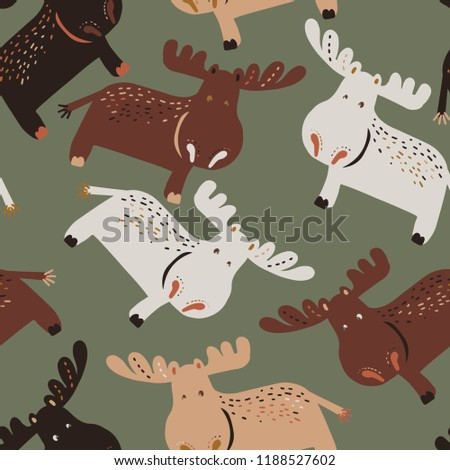 Moose clipart cute, Moose cute Transparent FREE for download on  WebStockReview 2020
