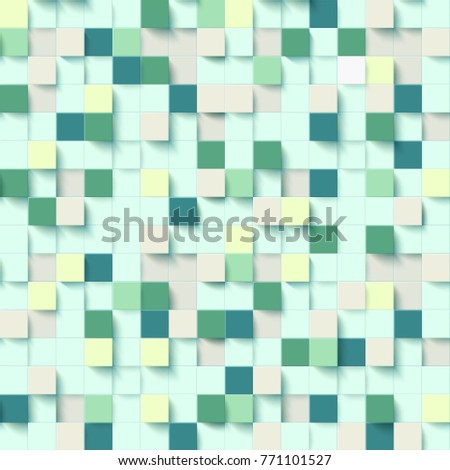 seamless pattern with three