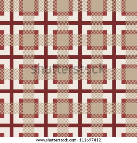 seamless pattern with traditional scottish ornament