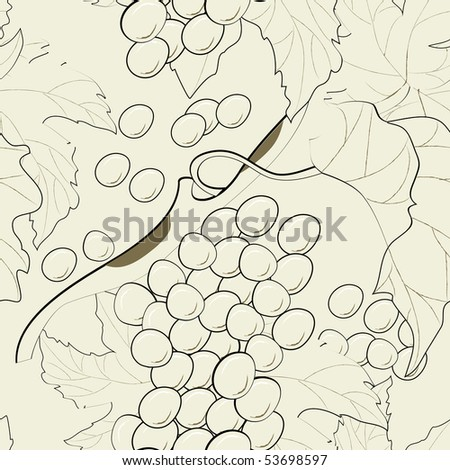 seamless pattern with vine