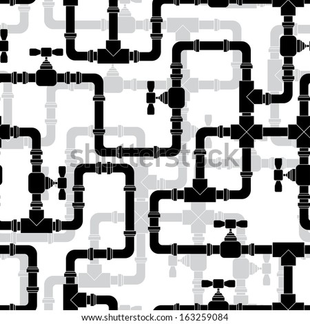 seamless pattern with water