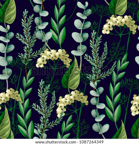seamless pattern with wild