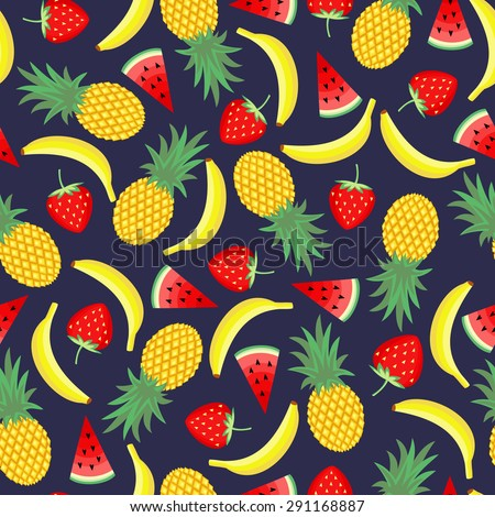 seamless pattern with yellow