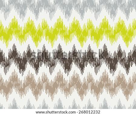 seamless pattern with zig zag